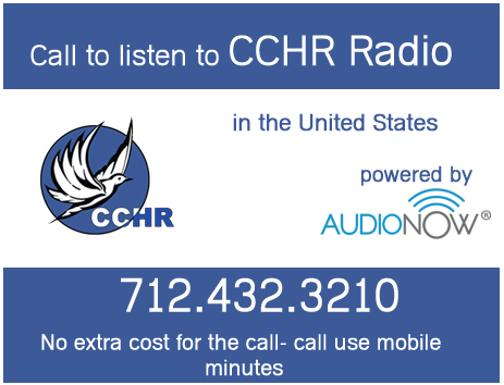 CCHR on AudioNow